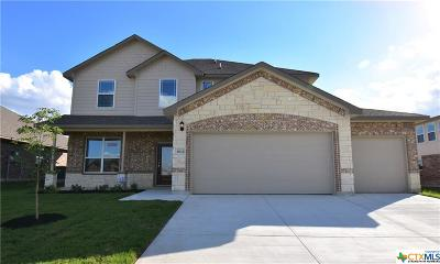Killeen TX Single Family Home For Sale: $305,950