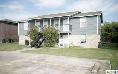 Killeen TX Multi Family Home For Sale: $169,900