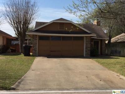 Temple Single Family Home For Sale: 2609 San Jacinto