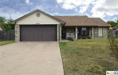 Killeen TX Single Family Home For Sale: $105,000