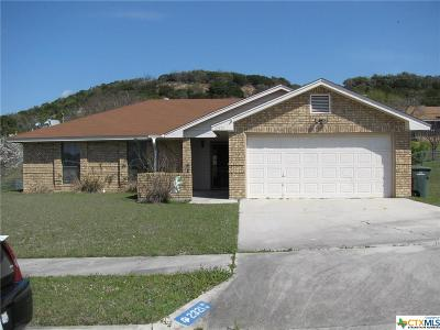 Copperas Cove TX Single Family Home For Sale: $135,000