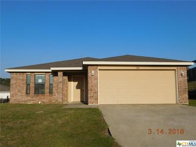 Copperas Cove Single Family Home For Sale: 1106 Katelyn