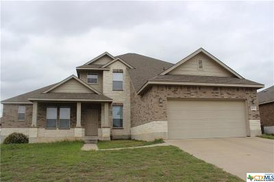 Killeen Single Family Home For Sale: 5609 Bedrock