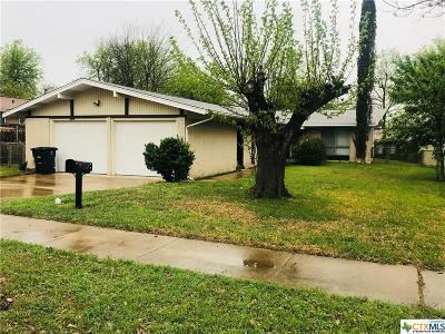 Killeen TX Single Family Home For Sale: $85,500