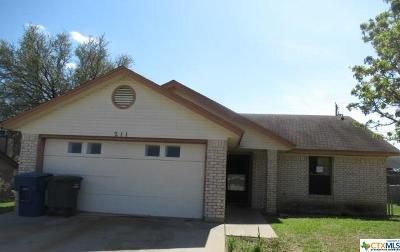 Copperas Cove Single Family Home For Sale: 211 Halter Drive