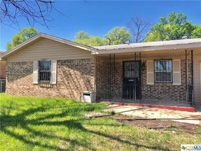 Copperas Cove Single Family Home Pending Take Backups: 1310 21st