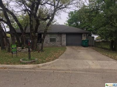 Belton Single Family Home For Sale: 1109 Avenue M