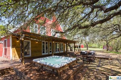 Hays County Single Family Home For Sale: 515 Wimberley Oaks