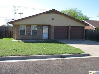 Harker Heights Single Family Home For Sale: 1302 Coronado Road