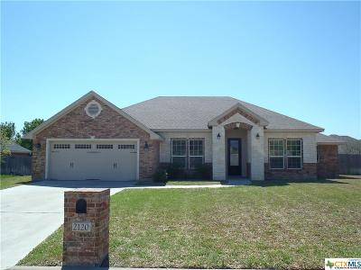Harker Heights Single Family Home For Sale: 2120 Addax Trail