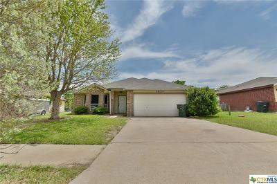 Killeen Single Family Home For Sale: 3614 Palmtree Lane