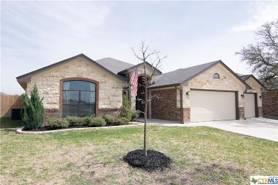 Harker Heights Single Family Home For Sale: 2033 Cork Oak Drive