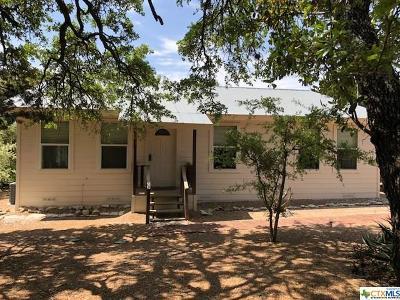 Canyon Lake Single Family Home For Sale: 22205 Fm 306