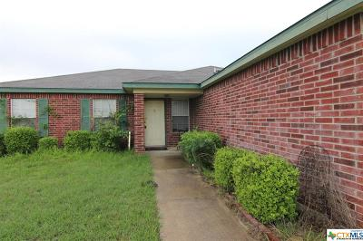 Killeen Single Family Home For Sale: 3404 Driftwood