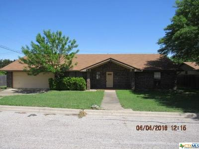 Harker Heights Single Family Home For Sale: 103 Moody Circle