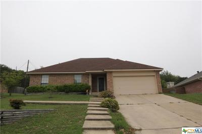 Harker Heights Single Family Home For Sale: 1613 Cedar Oaks