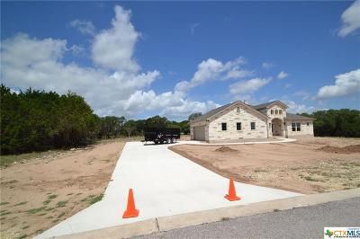 Burnet County Single Family Home For Sale: 404 First Down Dash