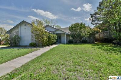 Harker Heights Single Family Home For Sale: 1702 Tanglewood Drive
