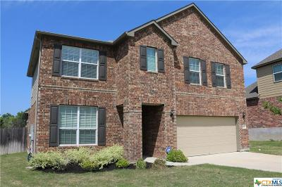 Harker Heights Single Family Home For Sale: 3206 Green Meadow