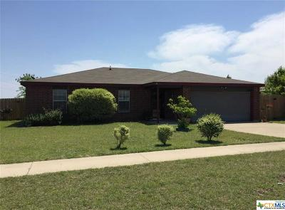 Killeen Single Family Home For Sale: 2808 Windfield Drive