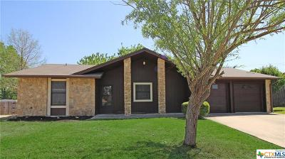 Harker Heights Single Family Home For Sale: 1233 Preswick Circle