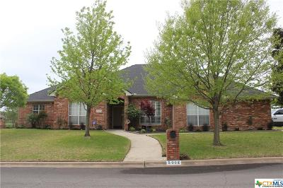 Killeen Single Family Home For Sale: 5002 Lakeshore Drive
