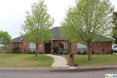 Killeen Single Family Home For Sale: 5002 Lakeshore