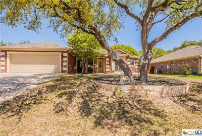 Harker Heights Single Family Home For Sale: 309 Prospector Trail