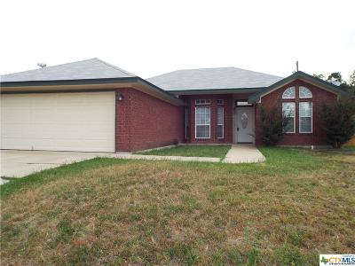 Killeen Single Family Home For Sale: 3611 Crosscut Loop
