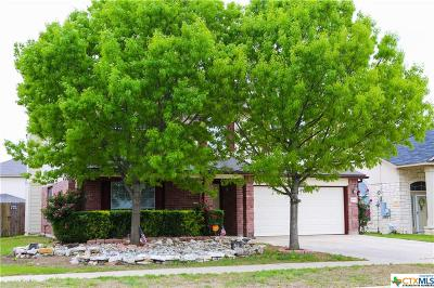 Killeen Single Family Home For Sale: 4606 Golden Gate Drive