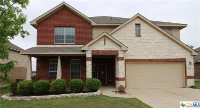 Harker Heights Single Family Home For Sale: 2510 Snow Bird Drive