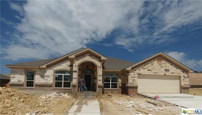 Harker Heights TX Single Family Home For Sale: $324,000