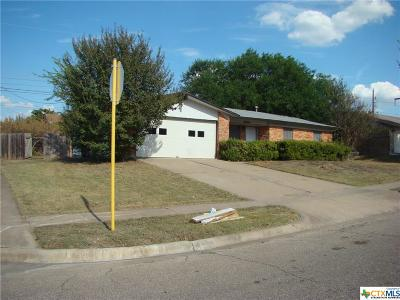 Killeen Single Family Home For Sale: 615 Skyline Avenue