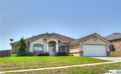 Killeen Single Family Home For Sale: 6500 Siltstone