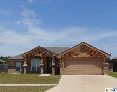 Killeen Single Family Home For Sale: 3711 Dewitt County Court