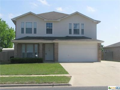 Killeen Single Family Home For Sale: 1902 Grey Fox