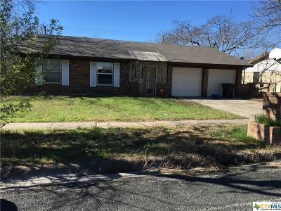 Killeen TX Single Family Home For Sale: $67,900