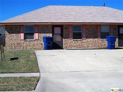 Copperas Cove TX Multi Family Home For Sale: $89,900