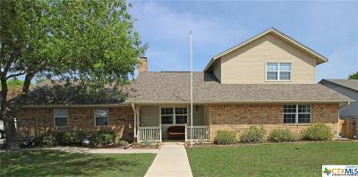 Copperas Cove TX Single Family Home For Sale: $179,900