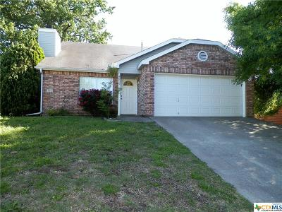 Copperas Cove TX Single Family Home For Sale: $123,000