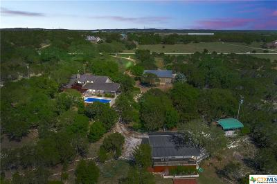 Dripping Springs TX Single Family Home For Sale: $799,900