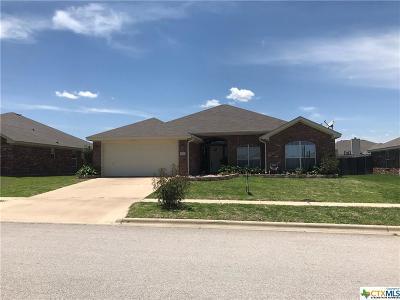 Killeen Single Family Home For Sale: 2509 E Jasmine Lane