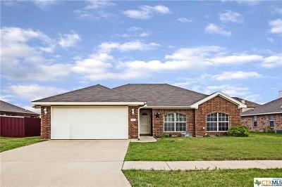 Killeen Single Family Home For Sale: 3105 Wisteria