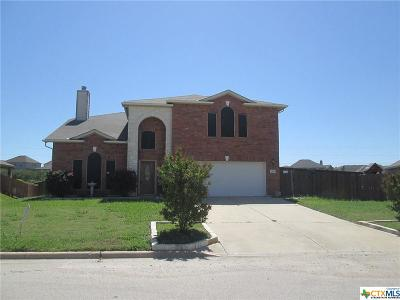 Harker Heights Single Family Home For Sale: 619 Tundra