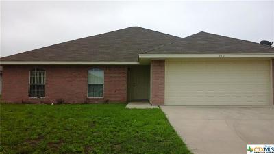 Nolanville Single Family Home For Sale: 312 Sims Ridge