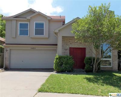Temple Single Family Home For Sale: 5405 Ridge