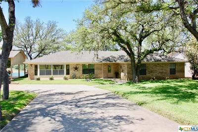 Belton Single Family Home For Sale: 578 Benchmark Trail