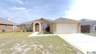 Killeen TX Single Family Home For Sale: $159,000