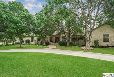 New Braunfels Single Family Home For Sale: 2857 Oak Run Parkway