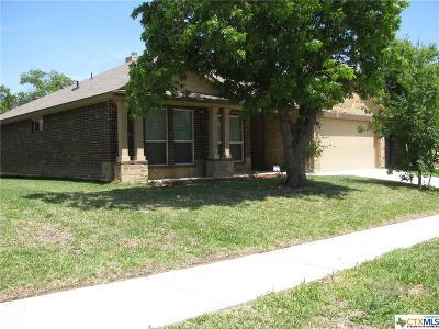 Killeen TX Single Family Home For Sale: $176,900